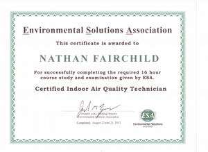 Indoor Air Cert