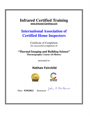 Infared Certified