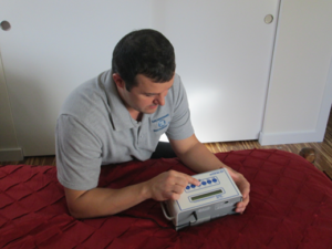 radon testing Denver
