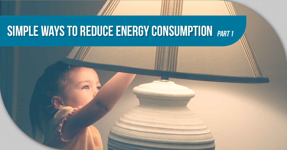 Simple Ways To Reduce Energy Consumption